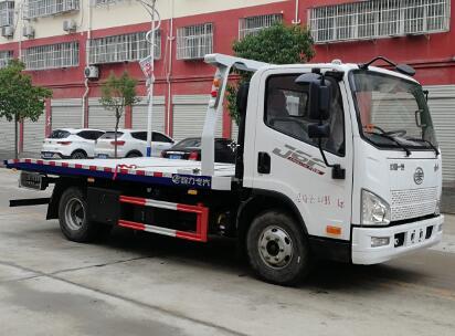 程力威牌CLW5040TQZC6型清障车