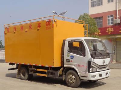程力威牌CLW5041TWJ6型吸污净化车