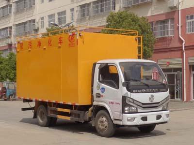 程力威牌CLW5071TWJ6型吸污净化车